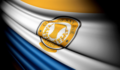 Flag of San Jose (USA)