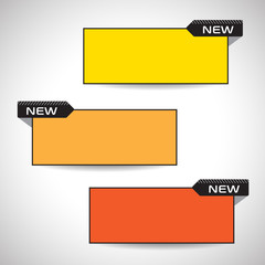 Collection Vector Frames. Price tags information.