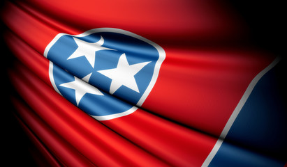 Flag of Tennessee (USA)