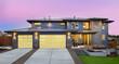 Beautiful Home Exterior at Sunset - 68923981