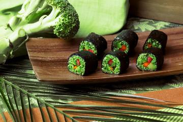 raw food rolls