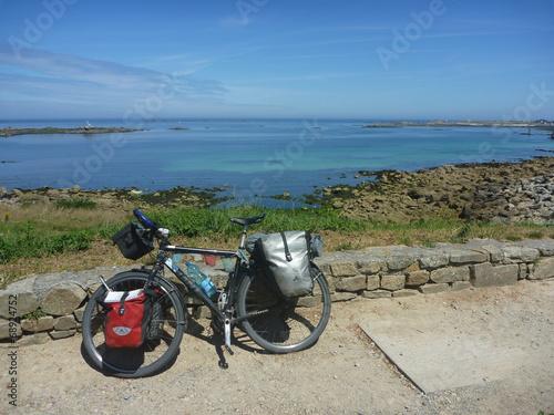 Plexiglas Wielersport vélo de voyage
