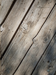 aged greyed wooden panneling