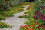 Allée centrale du jardin de Claude Monet (Giverny)