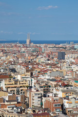 Barcelona and the Med