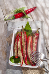Spicy chili stuffing