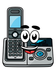 Cartoon cordless phone