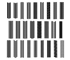 Tire shapes set