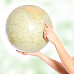 Globus halten