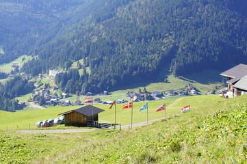 Hiking from Söllereck to Vorarlberg