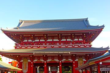 Pavilion in Senso-Ji Temple in Asakusa Tokyo, Japan