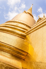 Stupa made of gold