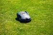 Leinwanddruck Bild - Automatic mower