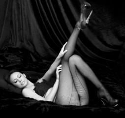 Burlesque woman