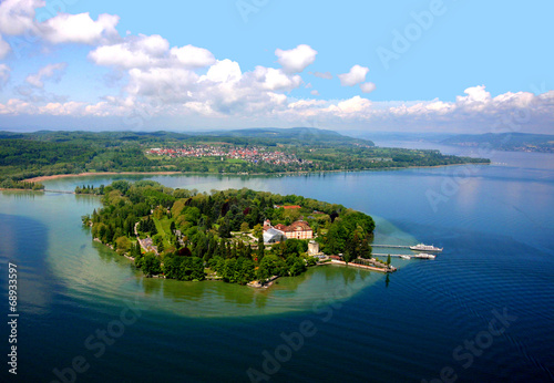 canvas print picture Insel Mainau