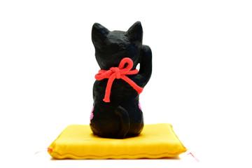 招き猫 座布団 (切り抜き用)