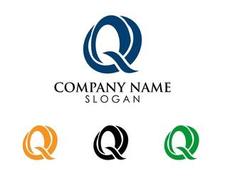 Q letter logo 1