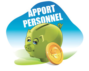 apport personnel - financement