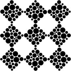 Seamless Rhombus Background