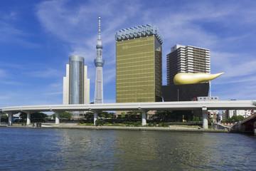 吾妻橋から望む東京スカイツリー788