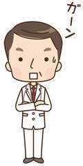 男性 医師 表情