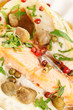 canvas print picture - roasted fish