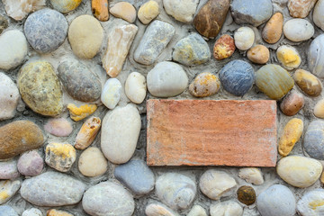 stone wall with blank