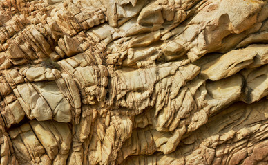 Rock surface.