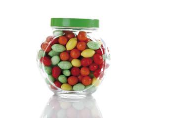 Süßigkeiten in der Keksdose