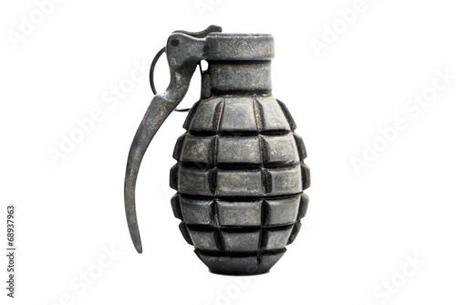 Leinwandbild Motiv Handgranate