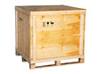large wooden box - 68939131