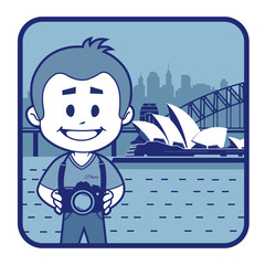Teaser with photographer travels through Australia