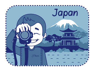 Teaser with photographer travels through Japan
