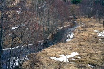 spring creek water landscape