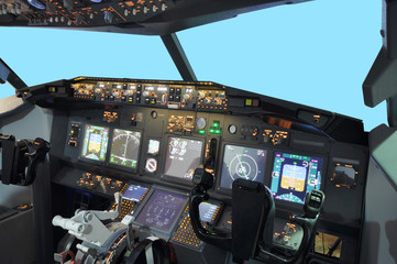 B737 Flight simulator