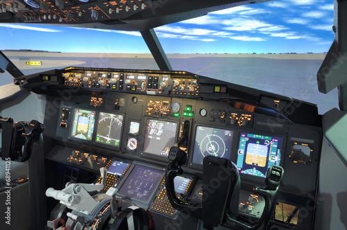 B737 Flight simulator - 68941125