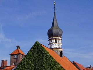 HOCKSIEL ( Ostfriesland) - Stadtpanorama