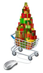 Online Christmas gift shopping
