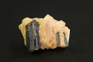 Apatite from lake Baikal, Siberia, Russia. 4.4cm across.