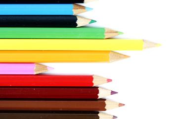 Close-up pencil.