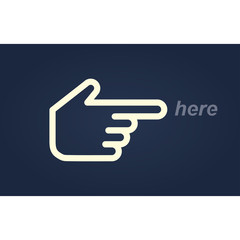 hand pointer