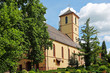 canvas print picture - St. Martinskirche in Gengenbach