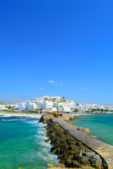 Naxos chora, Cyclades, Greece