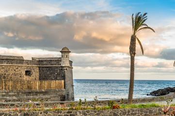 Fortress at Santa-Cruz de Tenerife
