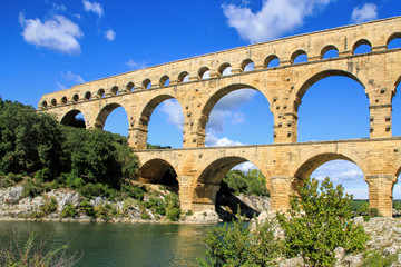 Pont du Gard, south of France