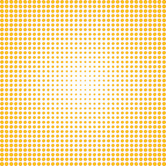 abstract background with yellow circles