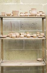 Shelf vases