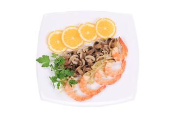 Shrimp Salad.