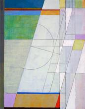eine abstrakte Malerei
