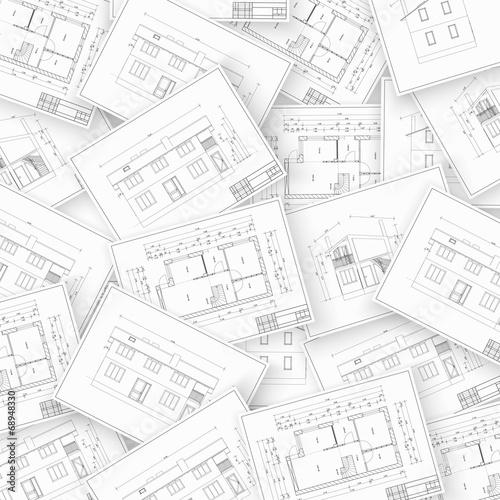 Collage architecture. - 68948330